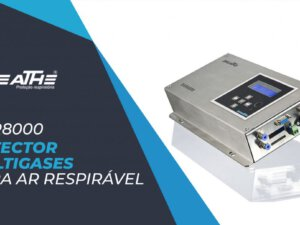 Detector multigases para ar respirável