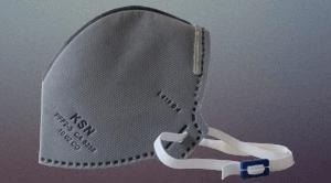 Respirador Descartável tipo dobrável CO – PFF2 S
