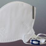 Respirador Descartável tipo dobrável MH – PFF2 S  Máscara Hospitalar