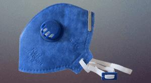 Respirador Descartável tipo dobrável  – PFF2 S  Com Válvula de Exalação.