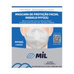 Respirador Descartável tipo dobrável  PFF2-S   Máscara Hospitalar