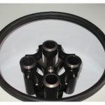 Centrífuga para teste de BSW com aquecimento 4 tubos